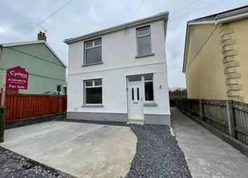Thumbnail 3 bed detached house for sale in Llannon Road, Pontyberem, Llanelli