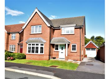 Thumbnail 4 bed detached house for sale in Hardwick Drive, Wrexham