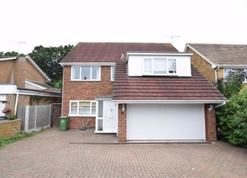 Thumbnail 4 bed detached house for sale in Heathleigh Drive, Basildon, Essex