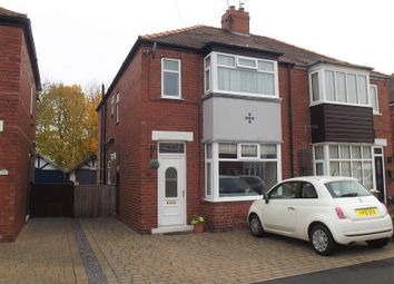 Thumbnail 3 bed semi-detached house for sale in Langholme Drive, Off Boroughbridge Rd. York