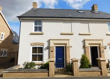 Thumbnail 3 bedroom semi-detached house for sale in 2 Faraday Gardens, Fairfield Park, Stotfold, Herts