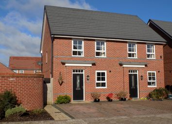 Thumbnail 3 bed semi-detached house for sale in Pack Horse Close, Lostock Gralam, Northwich