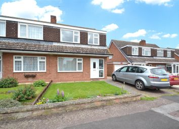 Thumbnail 3 bed semi-detached house for sale in Hall Drive, Cropwell Bishop, Nottingham
