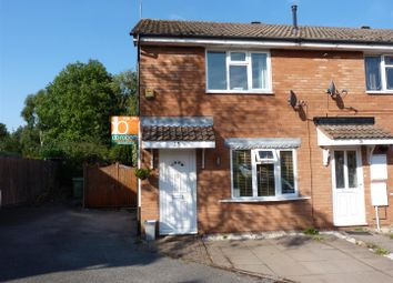 Thumbnail 2 bed terraced house for sale in Maycroft Close, Hednesford, Cannock