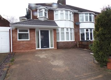 Thumbnail 3 bed property to rent in Rymond Road, Hodge Hill, Birmingham