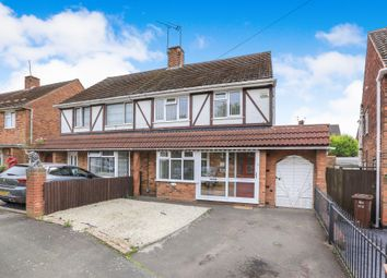 Thumbnail 3 bedroom semi-detached house for sale in Hilton Road, Lanesfield, Wolverhampton