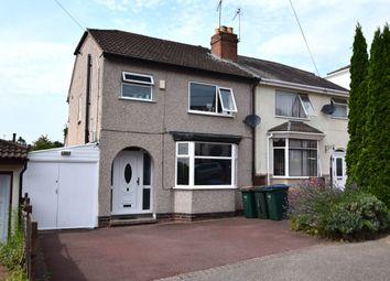 Thumbnail 3 bed semi-detached house for sale in Sherbourne Crescent, Coundon, Coventry