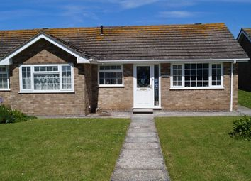 Thumbnail 2 bedroom semi-detached bungalow to rent in Warwick Place, Tywyn