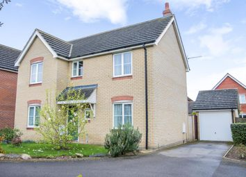 Thumbnail 4 bedroom detached house for sale in Mallard End, Downham Market