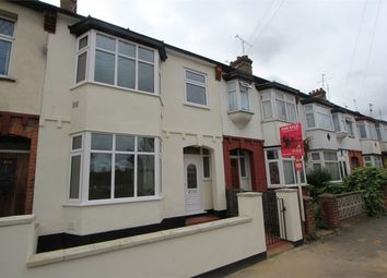 Thumbnail 3 bed terraced house to rent in Fairfax Drive, Westcliff-On-Sea, Essex