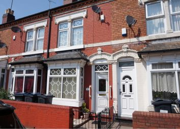Thumbnail 3 bed terraced house for sale in Ashwin Road, Handsworth, Birmingham