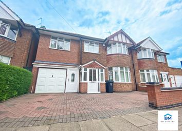 Thumbnail 5 bed semi-detached house for sale in Walsgrave Avenue, Leicester