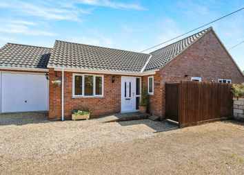 Thumbnail 2 bedroom detached bungalow for sale in Norwich Road, Besthorpe, Attleborough