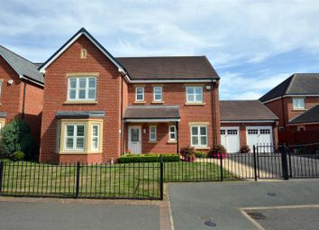 Thumbnail 4 bed detached house for sale in Ecclesbourne Meadows, Duffield, Belper