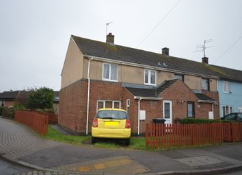 Thumbnail 3 bed end terrace house for sale in Buckfast Square, Corby
