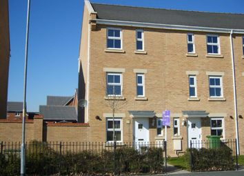 Thumbnail 4 bed end terrace house for sale in Staddlestone Circle, Hereford