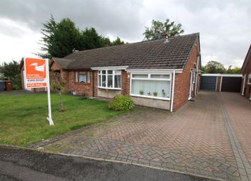 Thumbnail 3 bedroom semi-detached bungalow for sale in Harwood Avenue, Branston, Burton-On-Trent