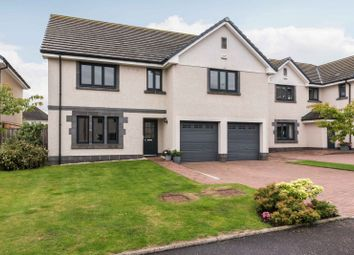 Thumbnail 4 bed detached house for sale in Burnbrae Avenue, Edinburgh