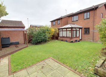 Thumbnail 3 bed detached house for sale in Barbers Hill, Werrington, Peterborough