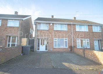 Thumbnail 3 bed semi-detached house for sale in Oatfield Close, Luton