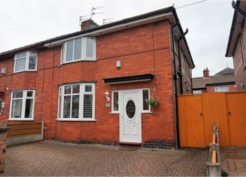 Thumbnail 3 bedroom semi-detached house for sale in Rosslyn Road, Manchester