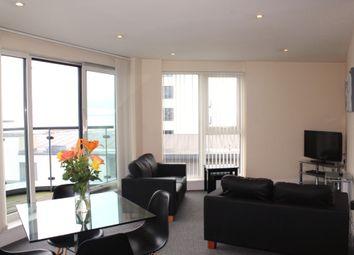 Thumbnail 2 bedroom flat for sale in Meridian Tower, Swansea