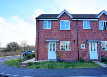 Thumbnail 3 bed terraced house for sale in Davenport Way, Woodville, Swadlincote