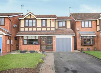 Thumbnail 4 bedroom detached house for sale in Fincham Close, Pendeford, Wolverhampton, West Midlands