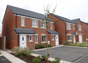 Thumbnail 2 bed semi-detached house for sale in Fellbarrow Close, Carlisle