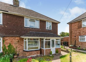 Thumbnail 3 bed semi-detached house for sale in Pegsdon Close, Luton