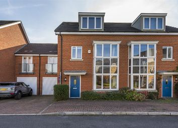 Thumbnail 4 bed town house for sale in Fairwater Drive, Shepperton