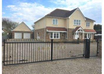 Thumbnail 5 bed detached house for sale in March Road, March