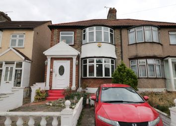 Thumbnail 3 bed end terrace house to rent in Seymer Road, Romford, Essex