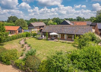 Thumbnail 4 bed barn conversion for sale in Bardwell, Bury St Edmunds, Suffolk