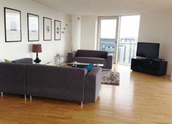 Thumbnail 1 bed flat to rent in Barrier House, Royal Wharf, London