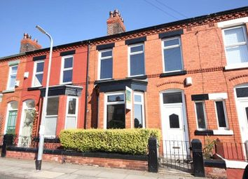 Thumbnail 3 bedroom terraced house for sale in Avonmore Avenue, Mossley Hill, Liverpool