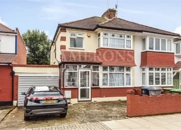 Thumbnail 3 bed semi-detached house for sale in Sherrick Green Road, London
