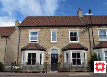 Thumbnail 3 bed semi-detached house for sale in Dickens Boulevard, Fairfield, Stotfold, Herts