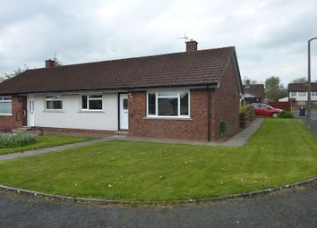 Thumbnail 2 bed semi-detached bungalow for sale in Grieve Walk, Heathhall, Dumfries, Dumfries And Galloway.