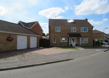 Thumbnail 4 bed detached house for sale in Ingamells Drive, Saxilby, Lincoln