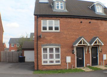 Thumbnail 4 bed semi-detached house to rent in Roman Crescent, Hucknall, Nottingham
