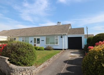 Thumbnail 2 bed semi-detached bungalow for sale in Crellow Lane, Stithians, Truro