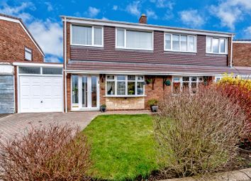 Thumbnail 3 bed semi-detached house for sale in Heather Road, Hednesford, Cannock