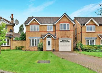 Thumbnail 4 bed detached house for sale in Sedgeford Close, Wilmslow