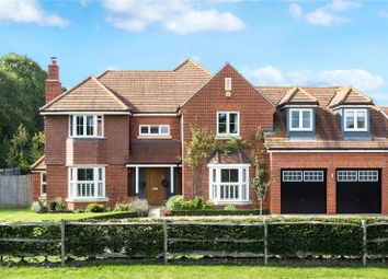 Thumbnail 5 bed detached house for sale in The Cobbs, Hartley Wintney, Hook