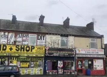 Thumbnail Retail premises for sale in Wellington Street, Gorton, Manchester