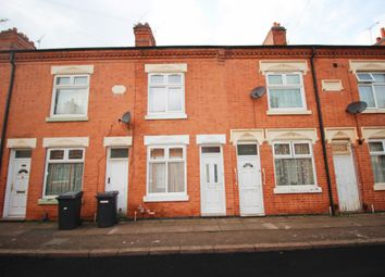 Thumbnail 3 bed terraced house for sale in Woodland Road, Leicester