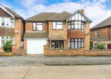 Thumbnail 5 bedroom detached house for sale in Wintersdale Road, Leicester