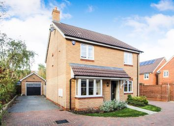 Thumbnail 4 bedroom detached house for sale in Brockhurst Close, Milton Keynes