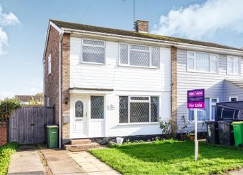 Thumbnail 3 bed semi-detached house for sale in The Avenue, Hullbridge